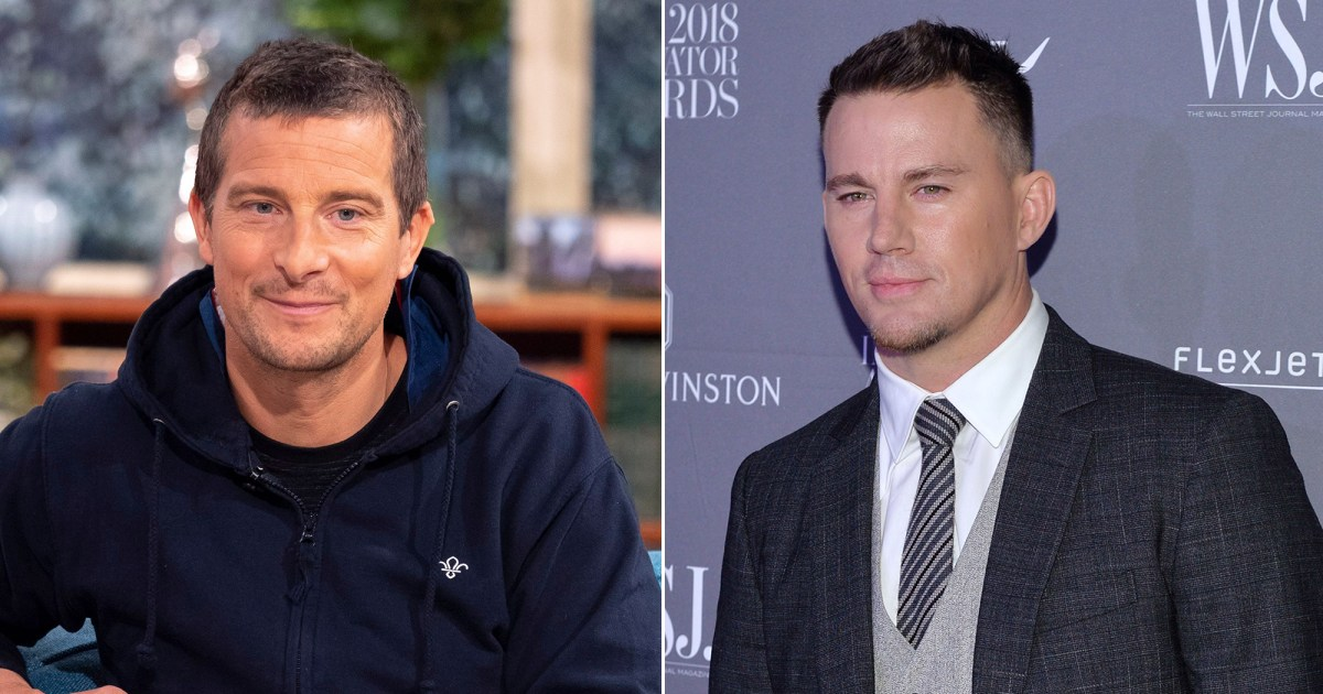 Bear Grylls Says He 'Empowered' Channing Tatum While Filming 'Running Wild' - Us Weekly