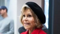 Jane Fonda's Red Coat