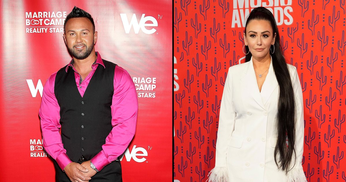 Roger Mathews Responds to Jenni 'JWoww' Farley's Divorce Talk on 'Jersey Shore': 'Hatred Spawns From Love'