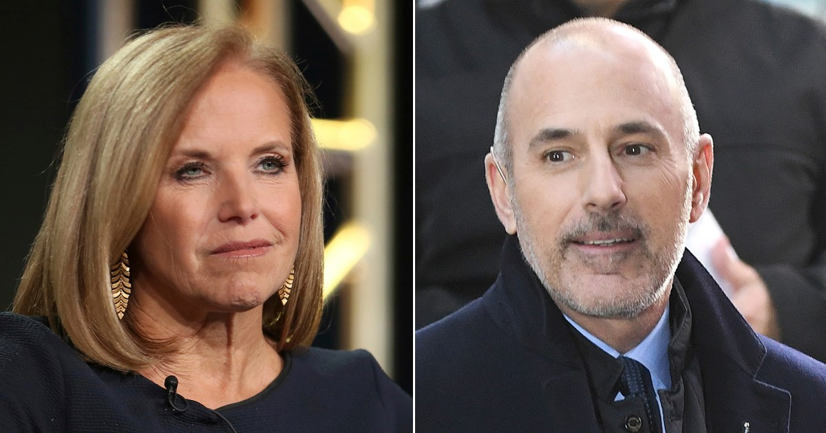 """Katie Couric Says Matt Lauer Turned Out to Be Two Very Different People - مات لاور """"تحول إلى شخصين مختلفين للغاية"""""""