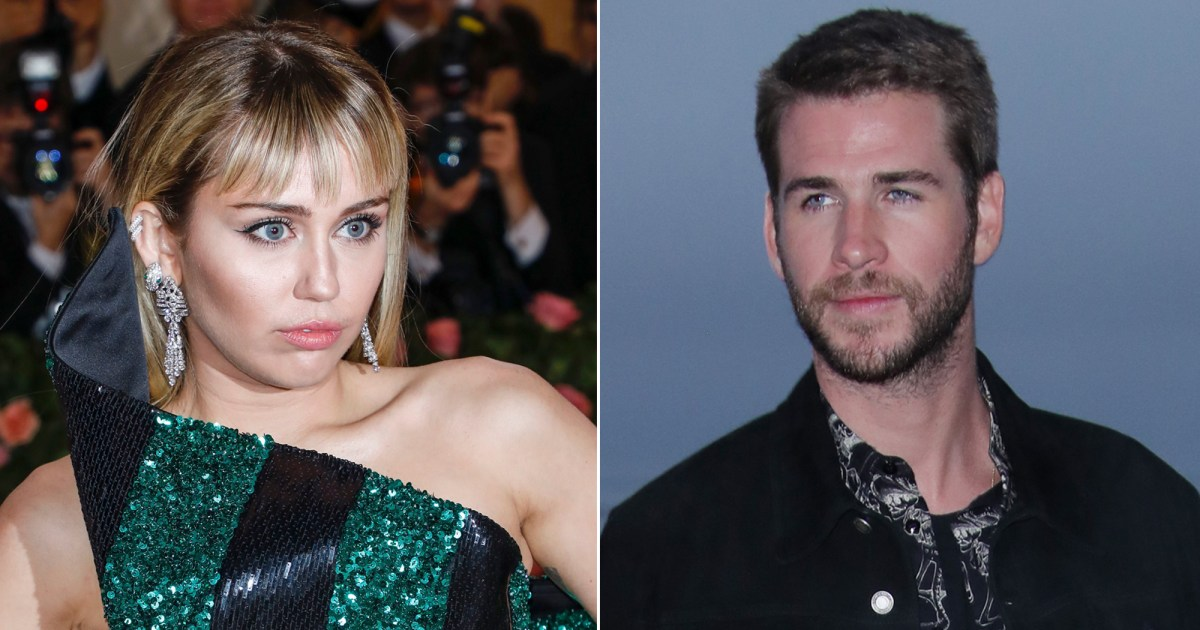Miley Cyrus and Liam Hemsworth Unfollow Each Other on Instagram Nearly 3 Months After Split - مايلي سايروس ، ليام هيمسورث ، يعيدان تحديث بعضهما على إنستغرام