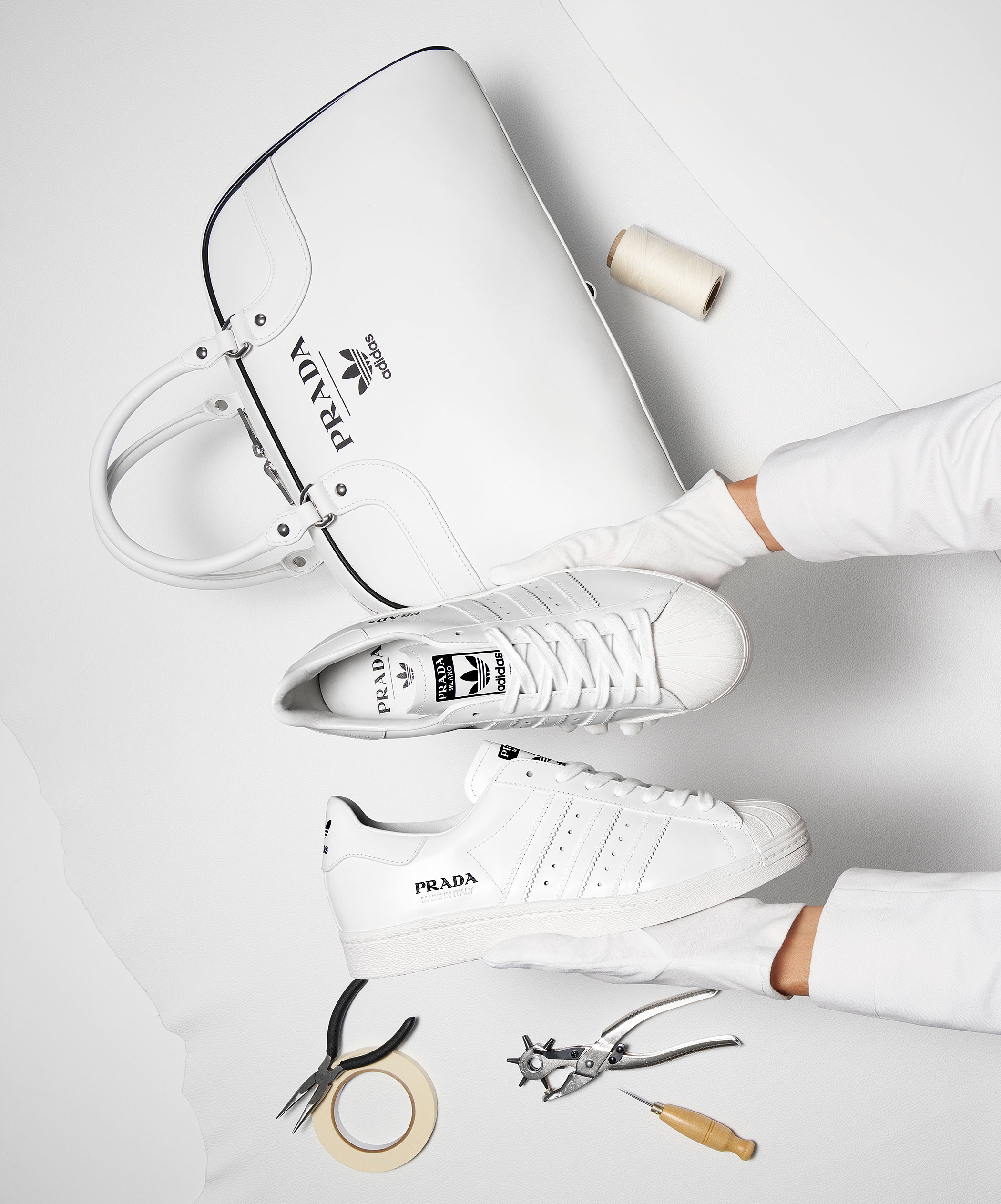 Prada adidas Superstar FW6683 Release Date Sneaker Bar Detroit