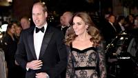 Prince William and Duchess Kate Dress to the Nines for Royal Variety Performance