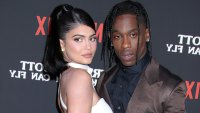 Kylie Jenner and Travis Scott Reunite for Thanksgiving in Palm Springs
