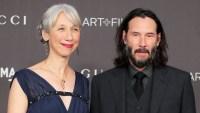 Keanu Reeves' Girlfriend Alexandra Grant On Her Gray Hair