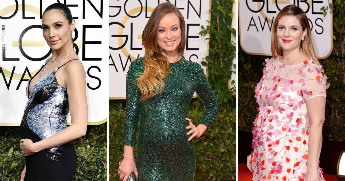 Pregnant Stars Show Off Baby Bumps at Golden Globes: Kristen Bell, Kate Mara and More