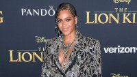 Beyonce Knowles The Lion King Premiere Wearing Alexander McQueen