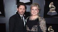 Brandon Blackstock and Kelly Clarkson 60th Annual Grammy Awards Christmas Present
