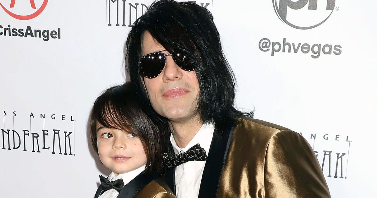 Criss Angel Reveals 5 Year Old Son Johnny's Cancer Has Returned - كريسس أنجل تكشف عن عودة ابنه جوني