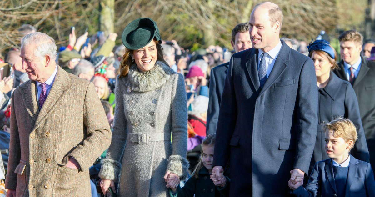 Kate! Will! George! The Royals Attend Christmas Day Service: Pics
