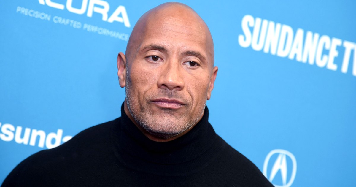 "Dwayne 'The Rock' Johnson Admits He Had 'Some Hesitancy' About Remarrying - يعترف الصخرة بأنه كان لديه ""إحساس بالرضا"" حول الزواج من جديد بعد الطلاق"