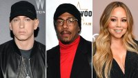Eminem Responds to 'Bougie F--k' Nick Cannon's Mariah Carey-Referencing Diss Track