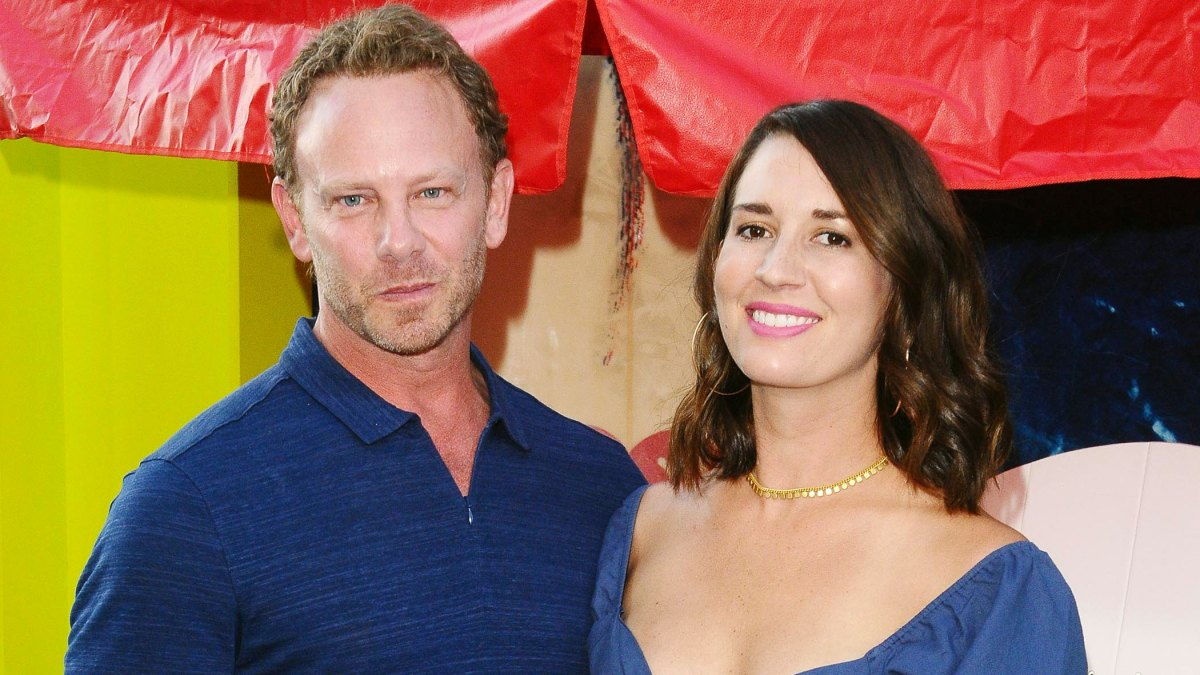Ian Ziering and Estranged Wife Erin Ludwig Reunite at Tori Spelling's Daughter's Birthday Party