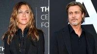 Jennifer Aniston Brad Pitt Connection Flirtatious at Times