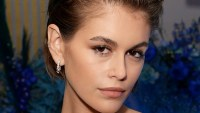 Kaia Gerber Hair Change Bob to Shorter Bob