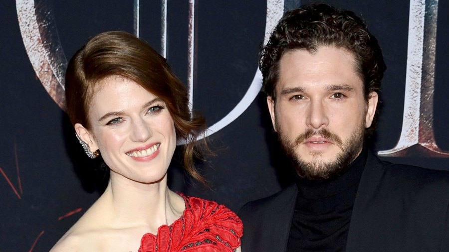 Kit Harington and Rose Leslie Spotted Together for 1st Time in 5 Months During Rare Public Date Night