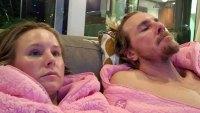 Kristen Bell and Dax Shepard Twinning in Onesies