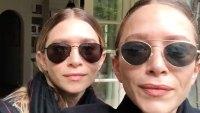 Mary-Kate Ashley Olsen Twinning Instagram