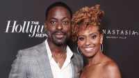 Sterling K. Brown and Ryan Michelle Bathe Argue in Front of Their Kids