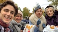 Timothée Chalamet Shares Behind-the-Scenes Snaps of Meryl Streep's Wendy's Fries Delivery