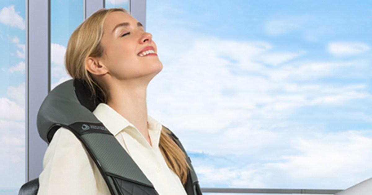 resteck back neckmassager - هذا مدلك RESTECK الأعلى تقييما هو المفتاح ل 2020 خالية من الإجهاد