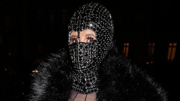 Cardi B Ski Mask Nearly Naked January 16, 2020