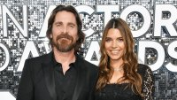 Christian Bale Makes Red Carpet Return With Wife Sibi Blazic at SAG Awards 2020