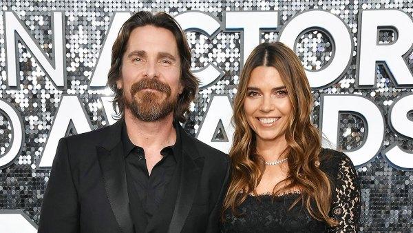 Christian Bale Makes Red Carpet Return With Wife Sibi Blazic at SAG Awards 2020