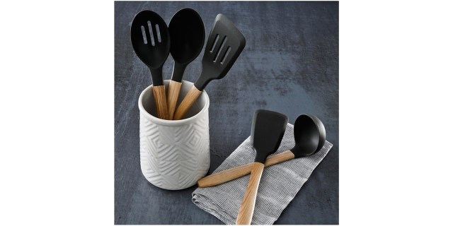 Cravings by Chrissy Teigen 6-Pc. Ceramic Crock & Tools Set
