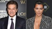 Dr. Oz Supports Kourtney Kardashian's Views on Candy