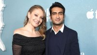 Emily V Gordon and Kumail Nanjiani at Little America Screening Emily V Gordon Says Kumail Nanjiani Is Embarrassed About His Ripped Body