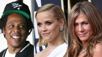 Jay-Z Brought His Champagne to the 2020 Golden Globes, Shared With Reese Witherspoon and Jennifer Aniston