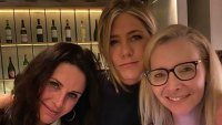 Jennifer Aniston, Courteney Cox, Lisa Kudrow Friends Critic's Choice Awards 2020