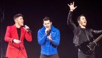 Nick Jonas Joe Jonas and Kevin Jonas Performing at Jingle Ball Jonas Brothers Announce Las Vegas Residency