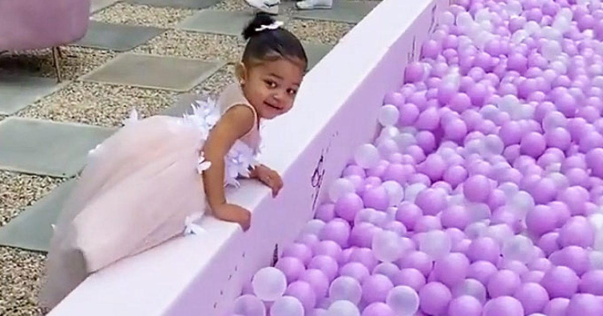 Inside Kylie Jenner's Stormi Collection Party for Daughter: Ball Pits, Princess Gowns and More
