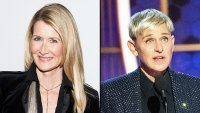 Laura Dern reveals why she cried during Ellen Degeneres Golden Globes acceptance speech