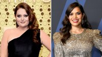 Lauren Ash Critics' Choice 2020 Gushes Over Pregnant Costar America Ferrera