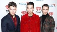 Nick Jonas, Joe Jonas and Kevin Jonas iHeartRadio Jingle Ball