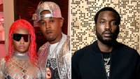 Nicki Minaj and Husband Kenneth Petty Get Into Heated Argument With Her Ex Meek Mill