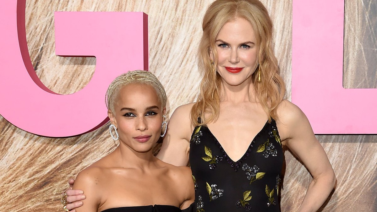 Nicole Kidman Now Feels Like Zoe Kravitz's 'Big Sister' Years After Lenny Kravitz Engagement