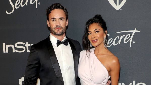 Nicole Scherzinger Makes Red Carpet Debut With 'X Factor UK' Contestant Thom Evans
