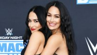 Nikki Bella and Brie Bella at WWE 20th Anniversary Celebration Nikki Bella and Brie Bella Baby Bump Album