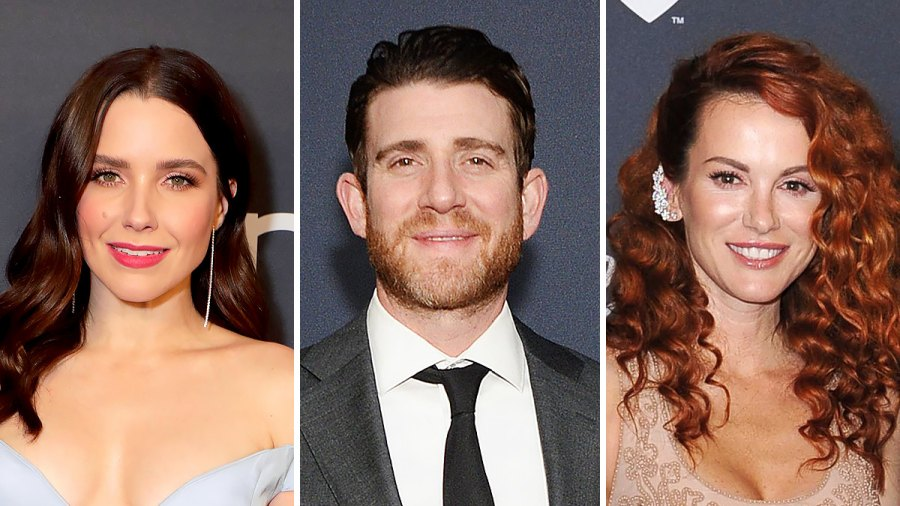 One Tree Hill Sophia Bush, Bryan Greenberg and Danneel Harris Reunite at Golden Globes 2020 Afterparty