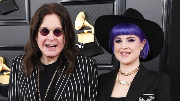 Ozzy Osbourne and Kelly Osbourne Stars Who Brought Family Members to the Grammys 2020