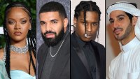 Rihanna Spotted With Ex Drake After A$AP Rocky Hangout and Hassan Jameel Split
