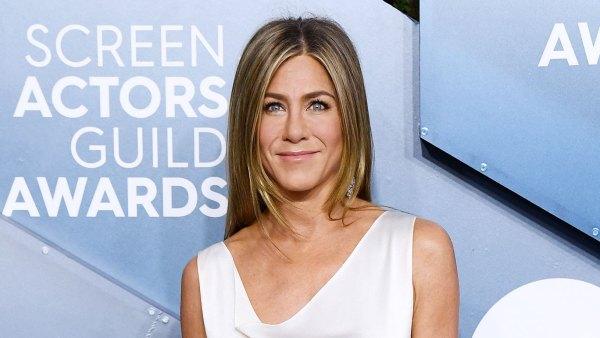 SAG Awards 2020 Jennifer Aniston White Gown