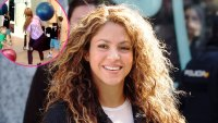 Shakira Sons Throw Exercises Balls Her During Workout
