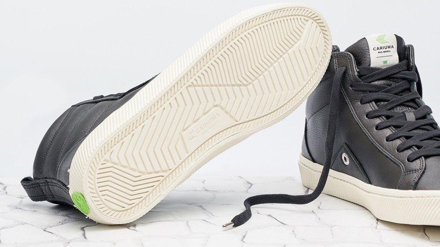 Catiba High Black Premium Leather