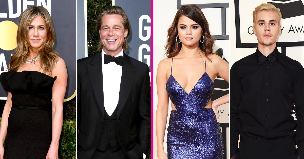 Celebrity Exes Who Attended the Same Awards Shows: From Jennifer Aniston and Brad Pitt to Selena Gomez and Justin Bieber