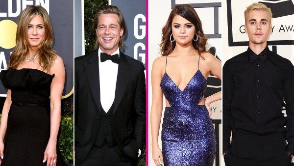 celeb-exes-at-award-shows-brad-jen-selena-justin